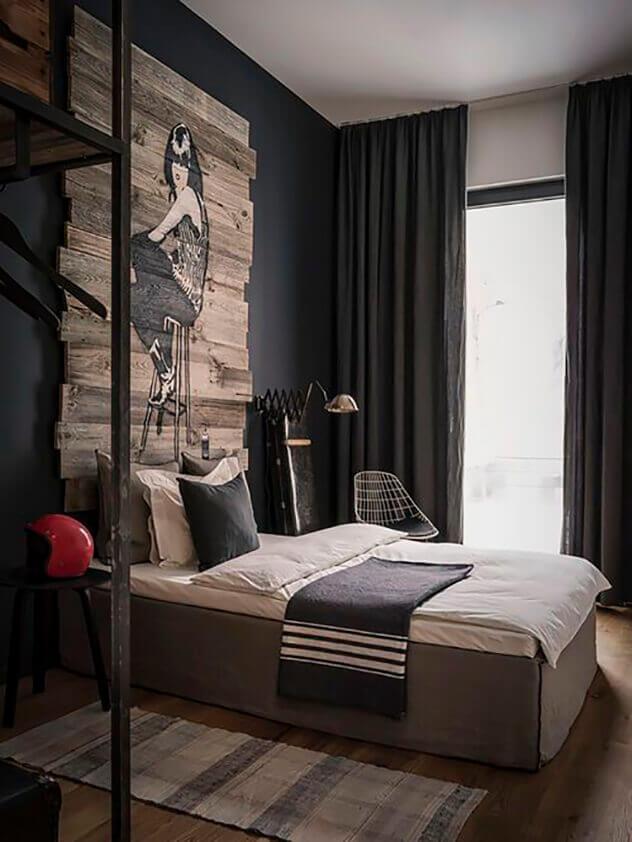 quarto masculino dicas e inspira es para o quarto perfeito. Black Bedroom Furniture Sets. Home Design Ideas