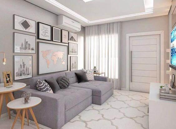 Capa - Sala pequena: dicas para decorar e otimizar seu espaço