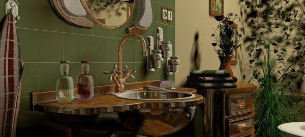 Capa - Como decorar um banheiro pequeno? Um passo a passo completo!