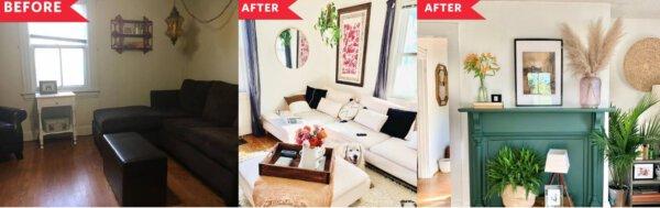 Capa - Decoração antes e depois: confira a transformação dessa sala!
