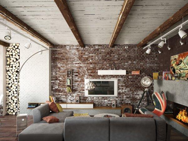 Capa - Parede de tijolo:11 ideias de decoração imperdíveis!