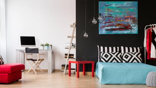 Capa - Como fazer um home office no quarto: dicas para espaço de solteiro e casal + 14 inspirações