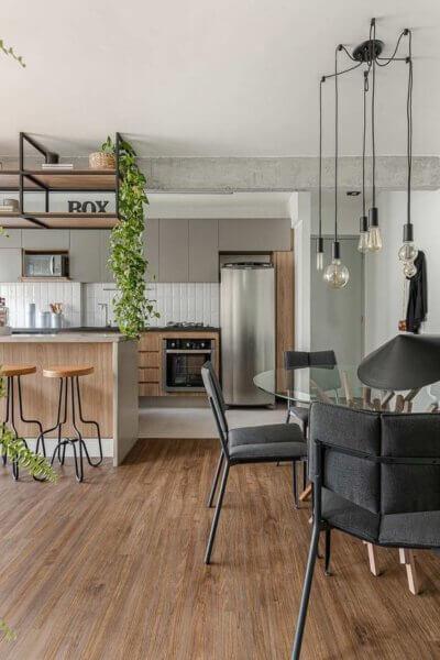 Capa - Cozinha integrada: tudo para você otimizar e decorar o ambiente!