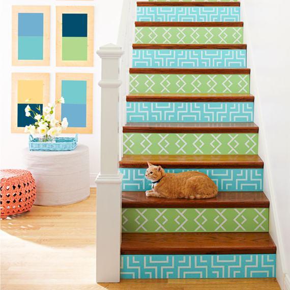 DIY: Decore sua Escada com Estilo e Personalidade