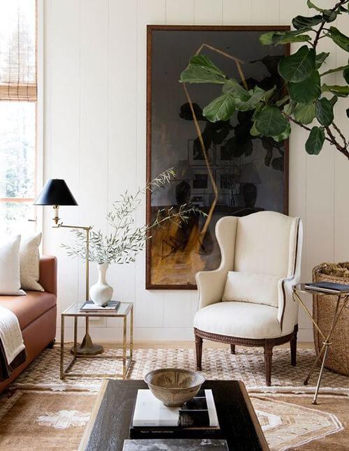 decorar um apartamento alugado - invista em tapete, cortinas e almofadas