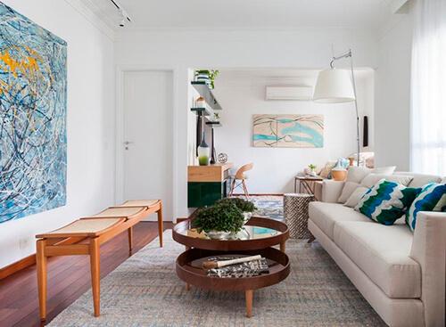 decorar uma apartamento alugado - abajour