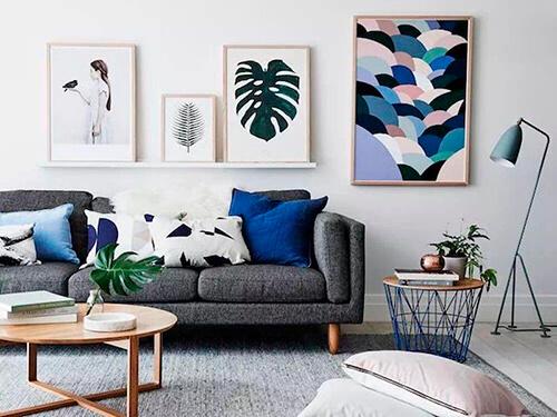 decorar uma apartamento alugado - abajur de piso