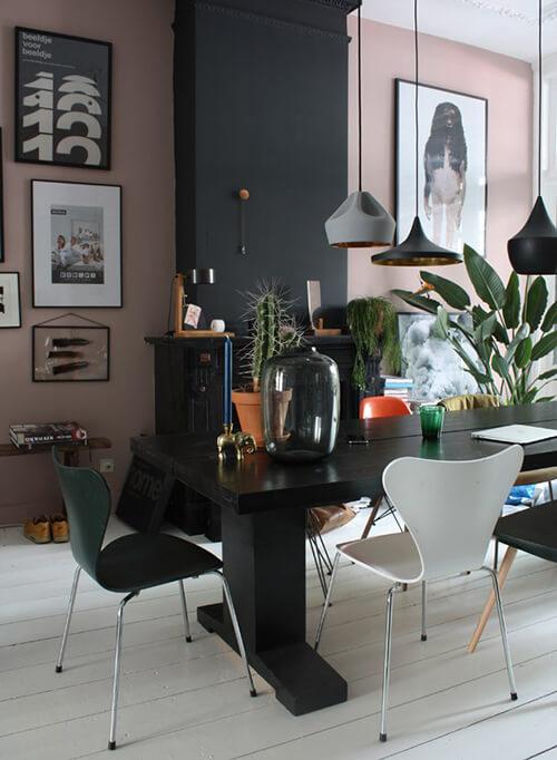 decorar uma apartamento alugado - diversos pendentes