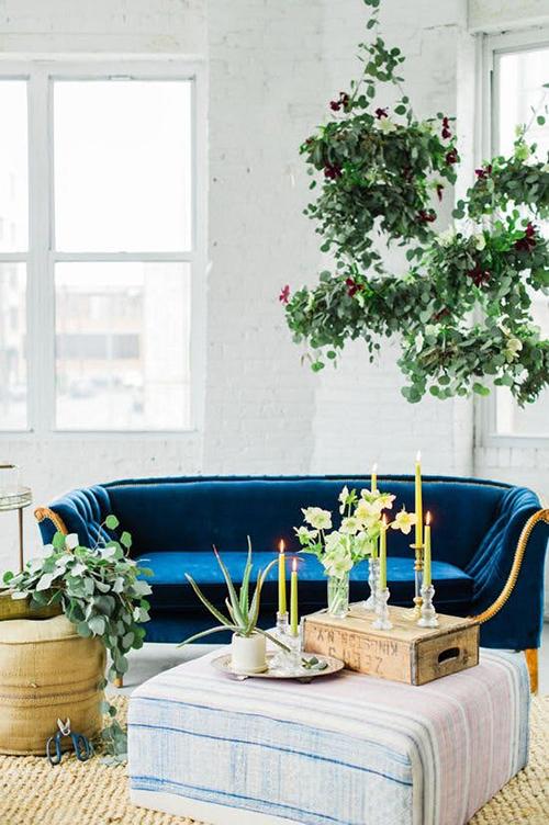 decorar uma apartamento alugado - pendure seus vasos