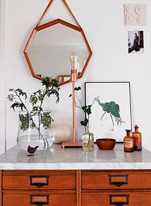 decorar uma apartamento alugado - use espelhos