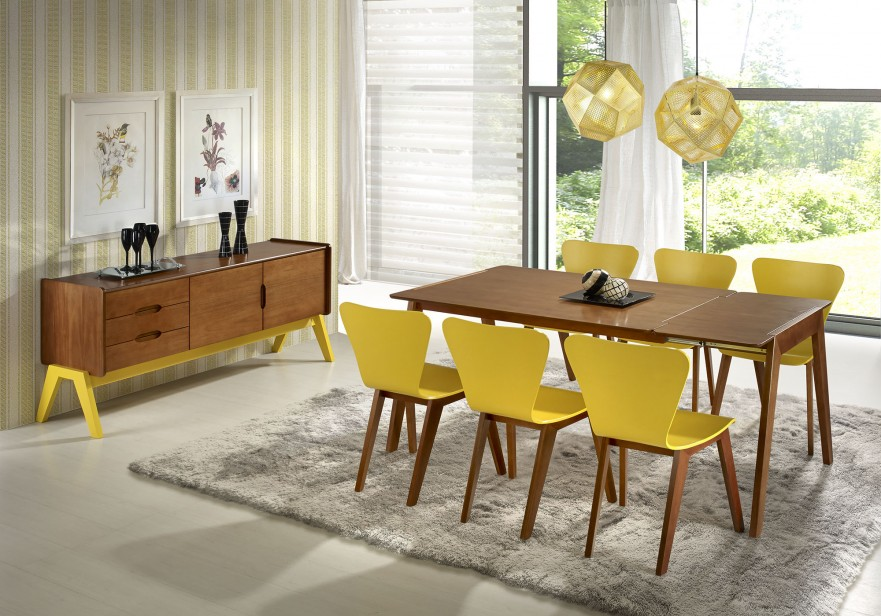 Sala de Jantar Amarela