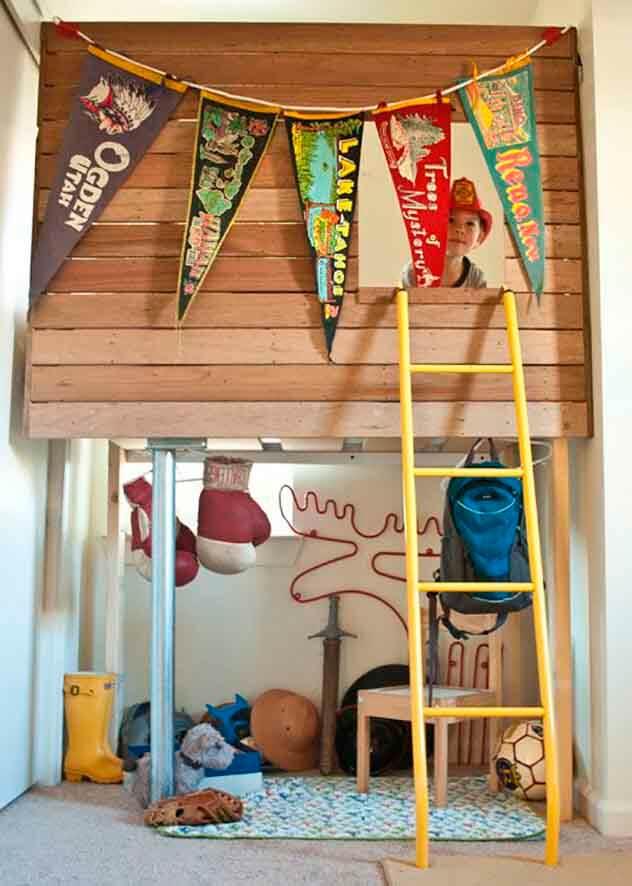 Quarto infantil decorado para os pequenos