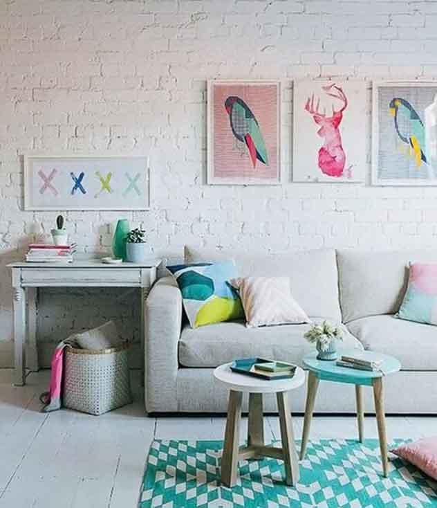 Decoração para sala de estar: escolhendo as cores e os tons