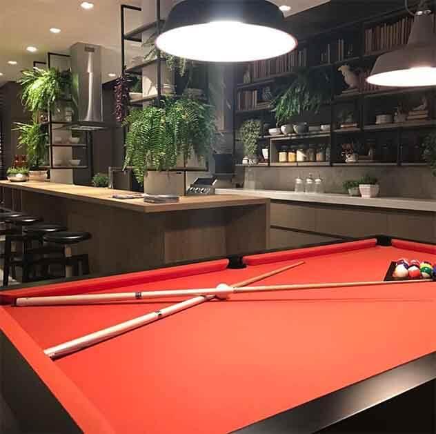 CASACOR RS 2017: Superloft com espaço gourmet e mesa de bilhar