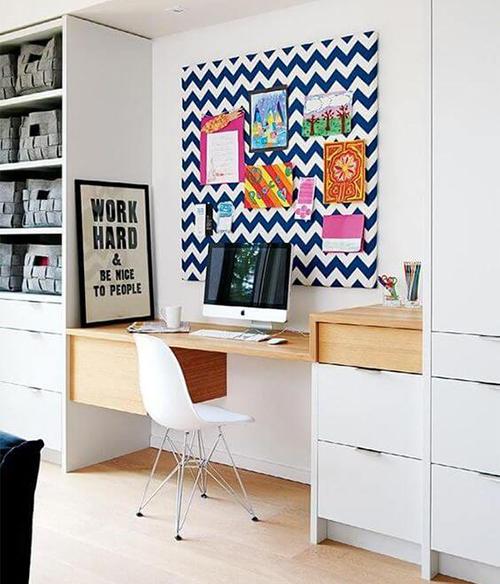 Decoração de escritório com personalidade