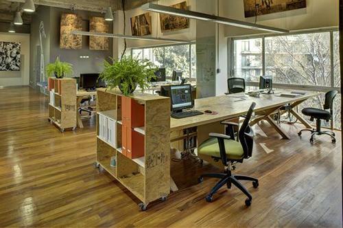 Decoração de escritório contribui para apresentação