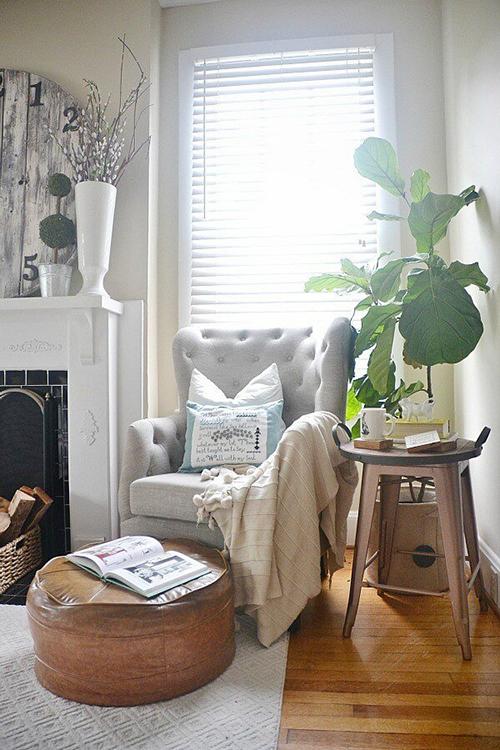 Decorar com amor - tenha um cantinho para ler e relaxar