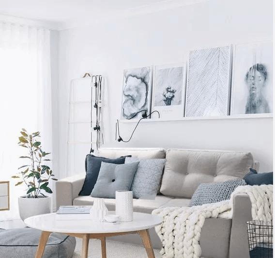 sala pequena sofá cama bulagne