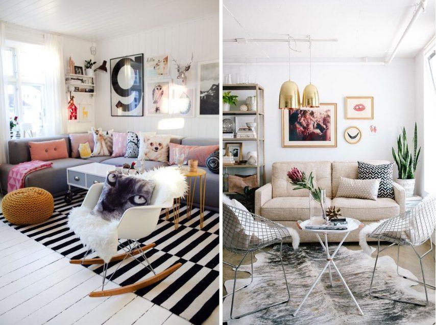 Cadeiras para sala - DAR Wood / Bertoia