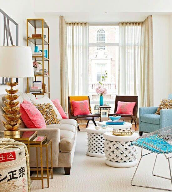 Cadeiras para sala - Bertoia