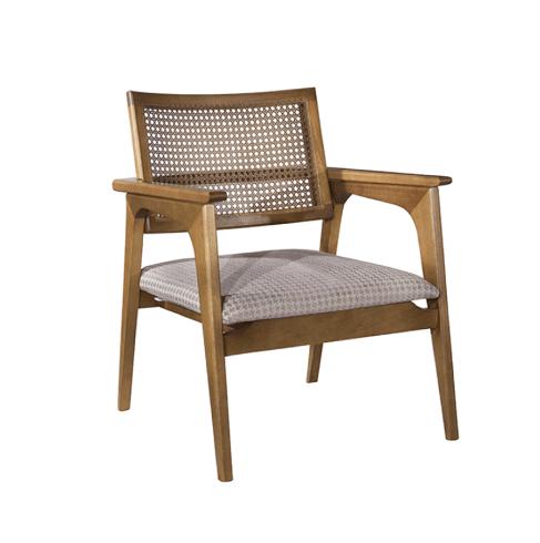 Cadeiras para sala - Cadeira de palha Burlan