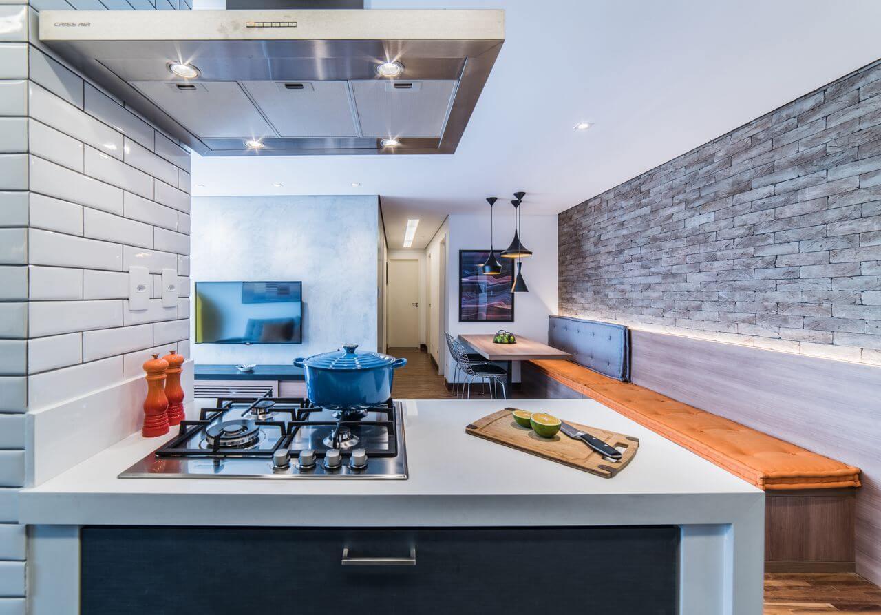 Decoração Industrial na Cozinha