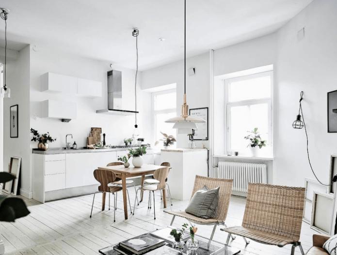 Ambientes Integrados - Sala Cozinha
