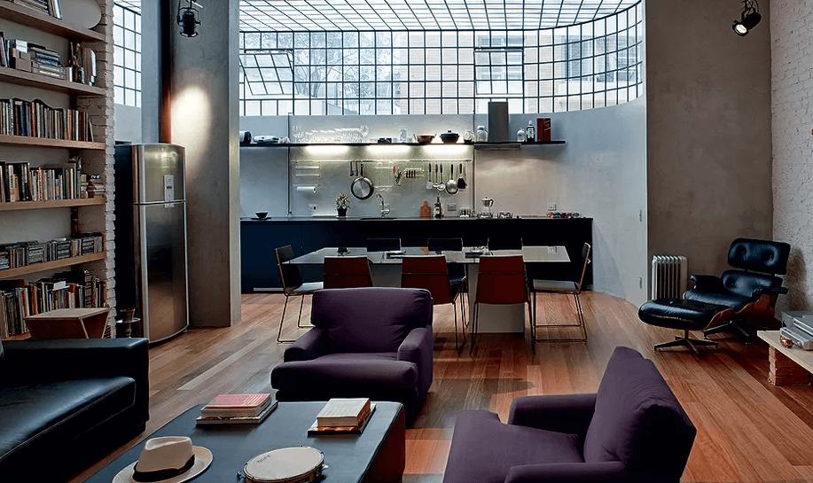 Ambientes Integrados - Sala e Cozinha
