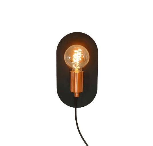 luminárias de parede - arandela de luz direta