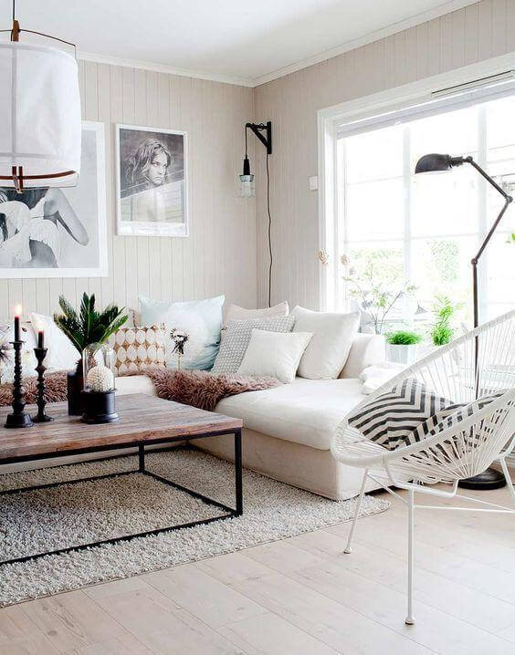 Estilo de decoração Escandinava com Cadeira Acapulco