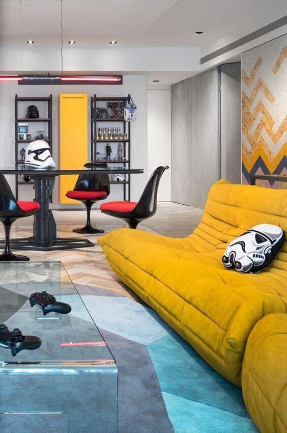 Estilo de Decoração Geek - Nerd Cool com Cadeira Saarinen - LIV Decora
