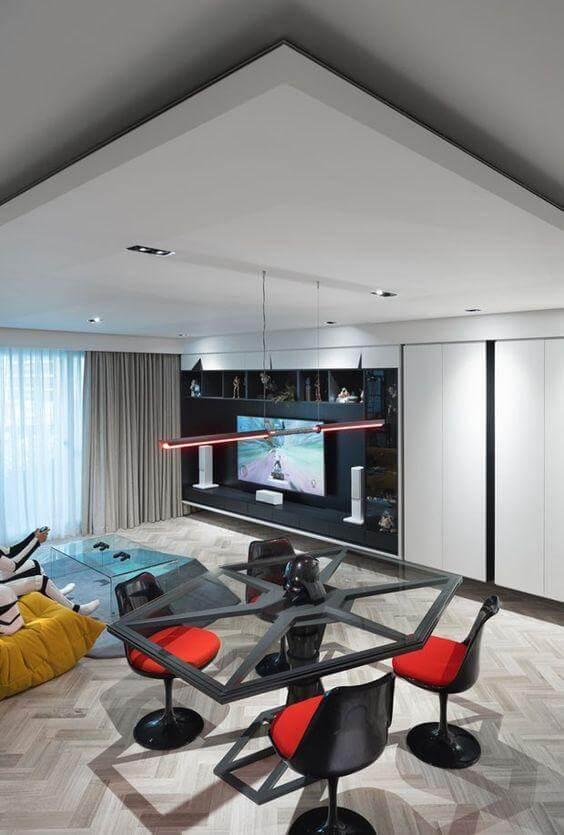 Estilo de decoração Geek - Nerd Cool com cadeira Saarinen