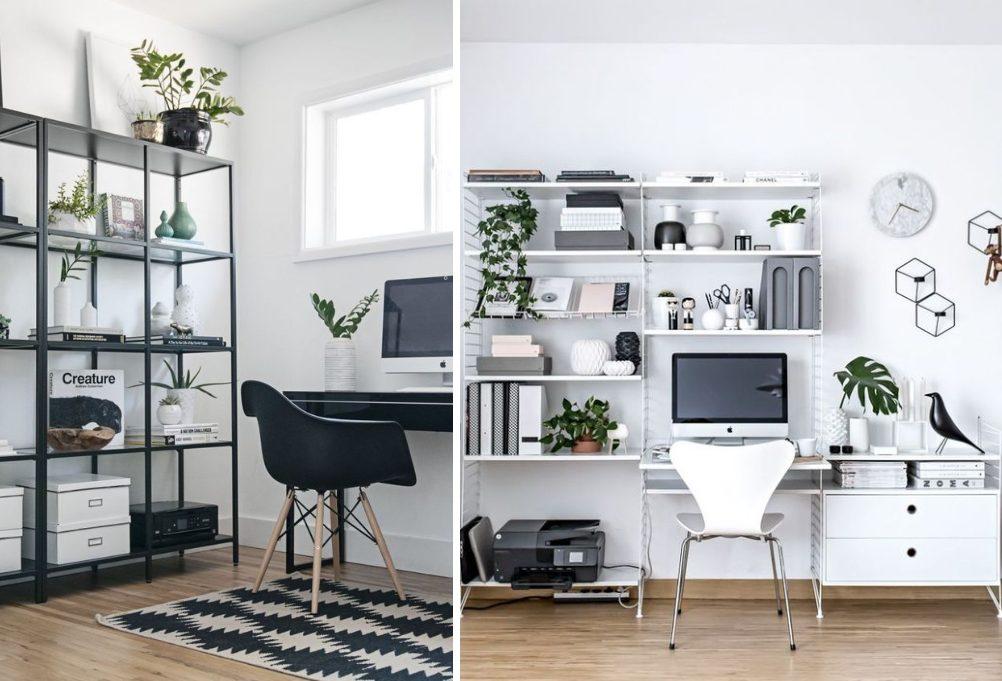 Home Office - Cadeira Eames Wood -  Cadeira Formiga