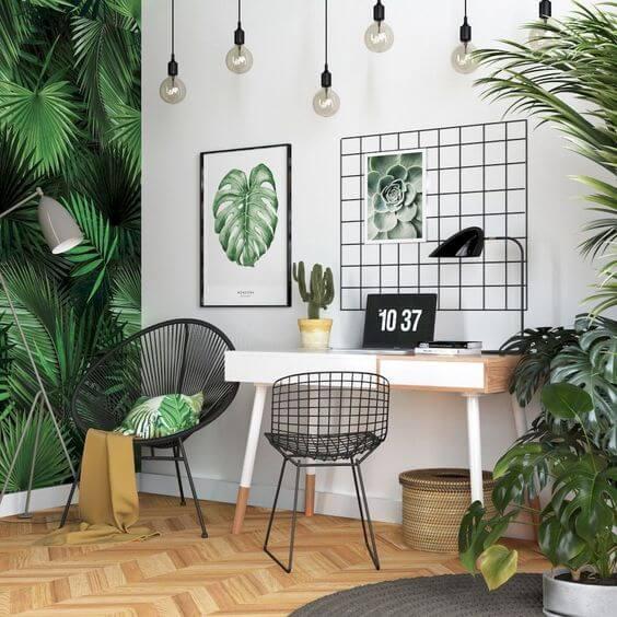 Home Office - Cadeira Acapulco - Cadeira Bertoia