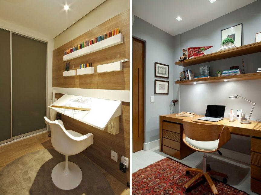 Home Office - Cadeira Saarinen Com Braço - Cadeira Madeira Curva PU