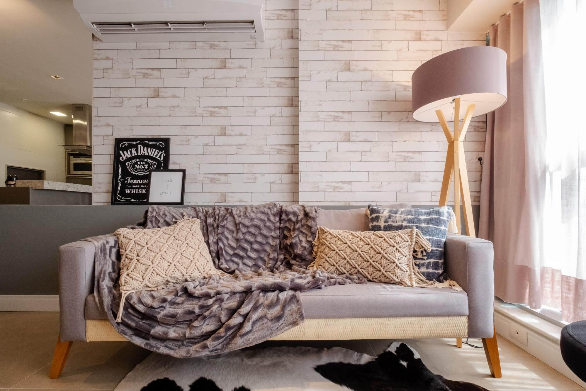 Apartamento pequeno - Como escolher as cores