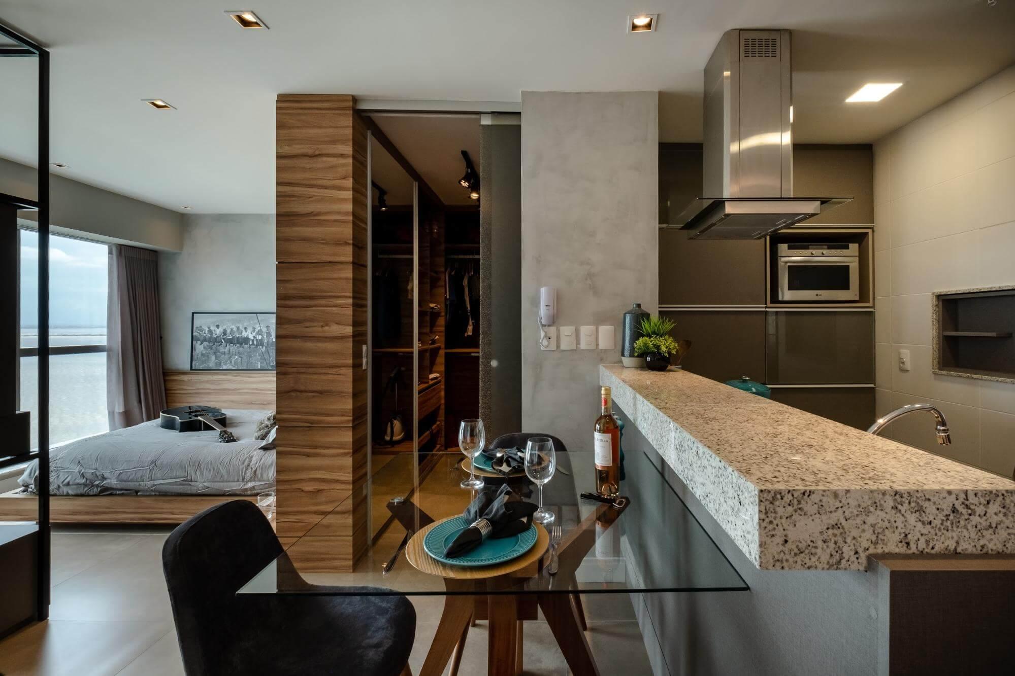Apartamento pequeno - integrar ambientes
