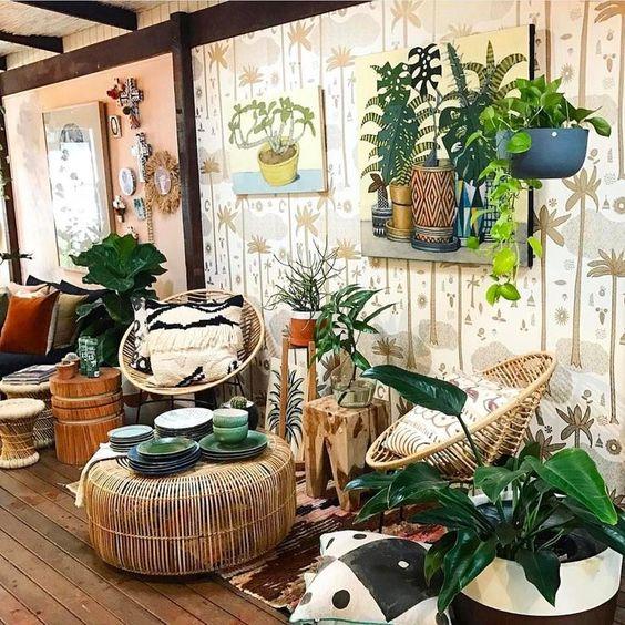 Truques na Decoração - Banco Xingu Quadrado - LIV Decora | Cadeira Acapulco - LIV Decora