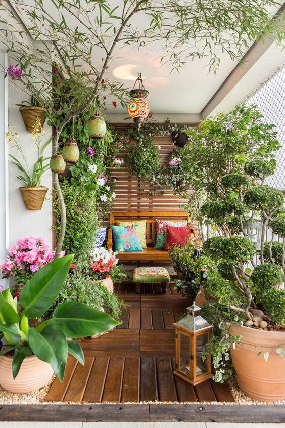 Truques na Decoração - Jardim vertical Duplo - LIV Decora