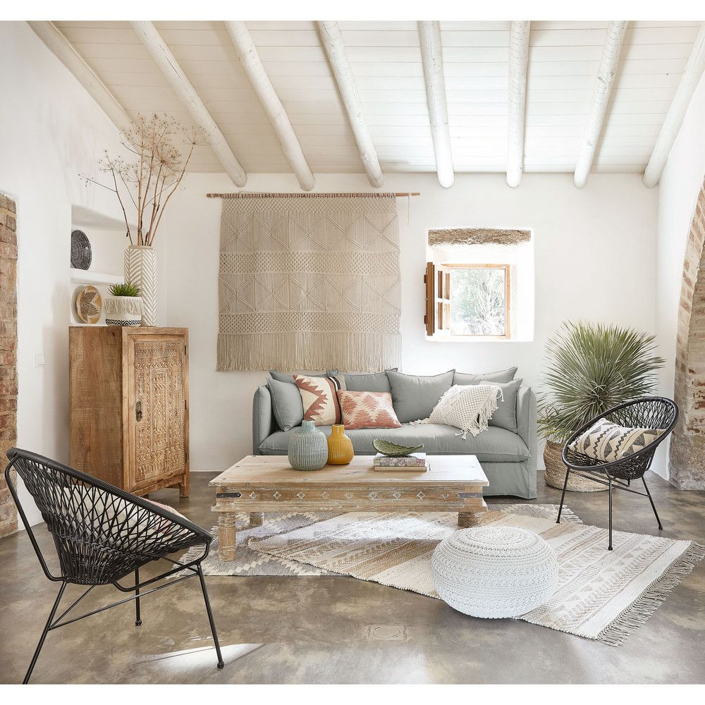 ON TRENDModernise your lounge area with the ITAPEMA garden armchair a design icon updated in a chic sober colour AIRY AND ROBUSTMade from metal