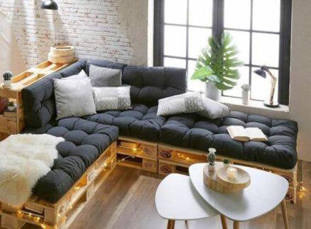DIY Decoração com Pallets: + de 25 inspirações para a sua casa!