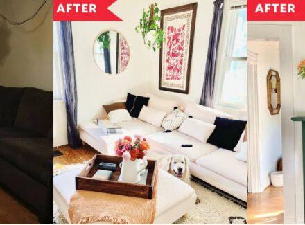 Decoração antes e depois: confira a transformação dessa sala!