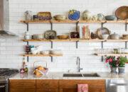 14 maneiras de organizar suas prateleiras e armários de cozinha