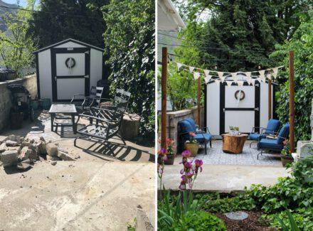 Decoração antes e depois: como pequenas mudanças transformam sua área externa