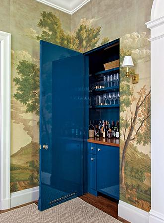 closet home bar ideas