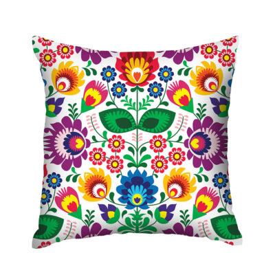Almofada Estampada Colorful Garden