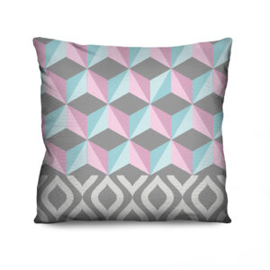 Almofada Estampada Colors Cubes