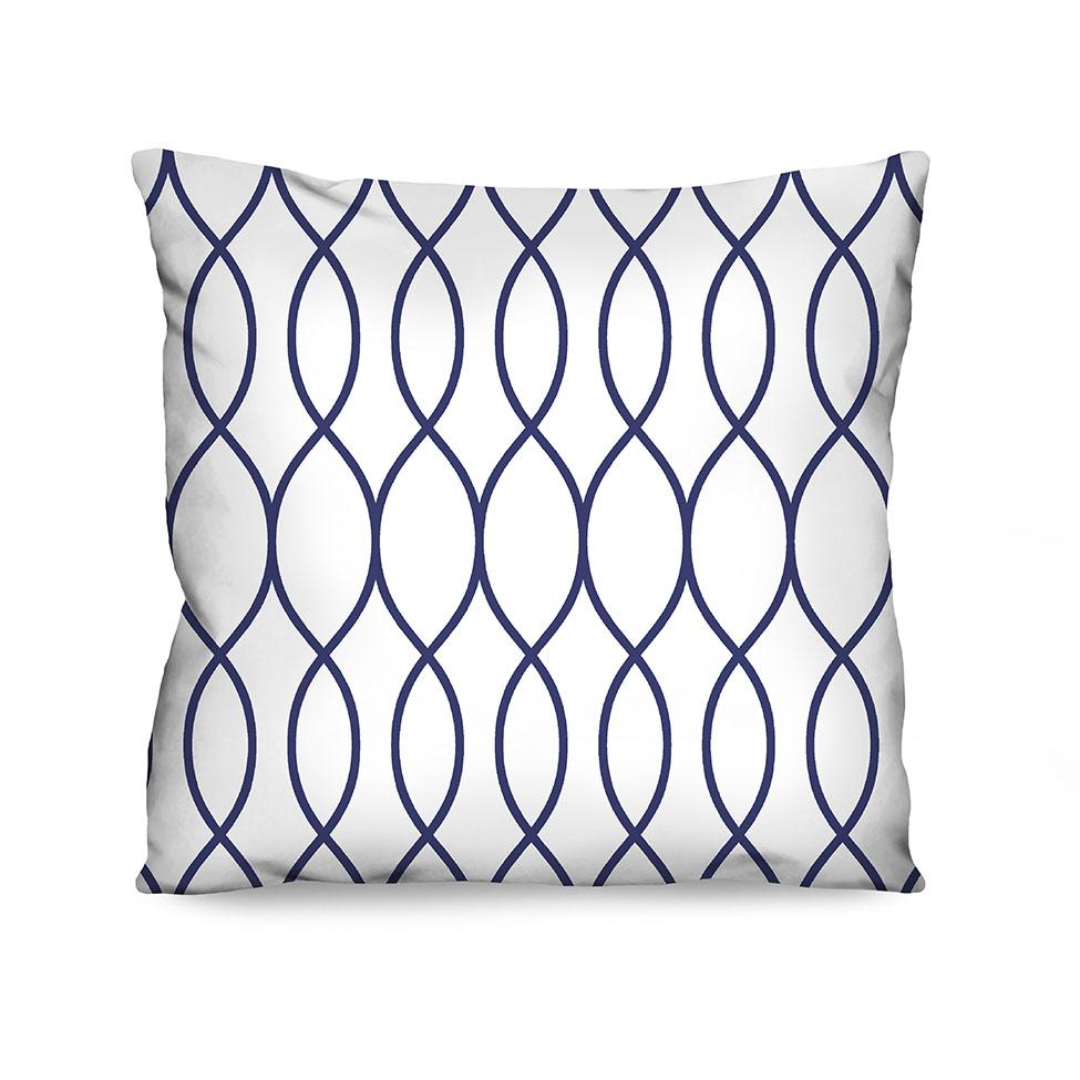 Almofada Estampada Infinity Azul