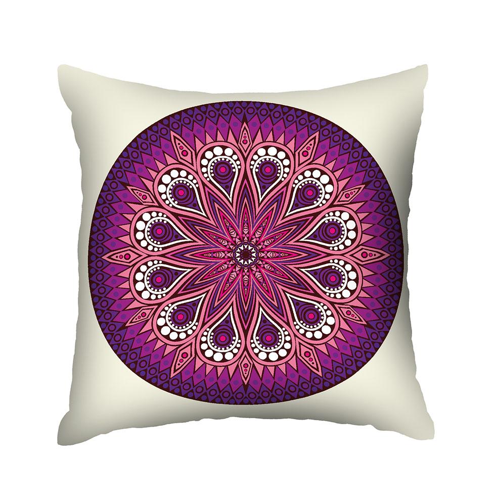 Almofada Estampada Mandala Peace & Love