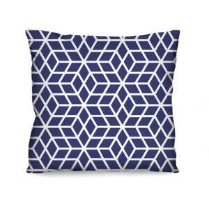 Almofada Estampada Samos Azul